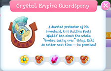 Crystal Empire Guardspony Album Description.png