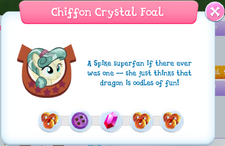 Chiffon Crystal Foal album description.png