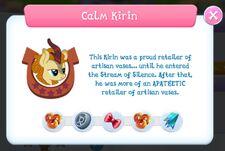 Calm Kirin info.jpg