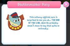 Stationmaster Pony Album Description.jpg