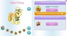 Safari pony album.png