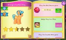 Orange Crystal Pony album.png