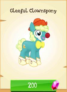 Gleeful Clownspony Store Unlocked.png