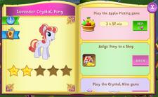 Lavender Crystal Pony album.png