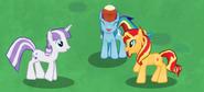 MLPGameloft RainbowDashBeingCute