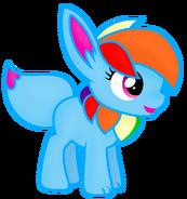 Rainbow Eevee Gameloft Vector