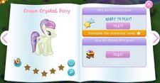 Cream Crystal Pony album.png
