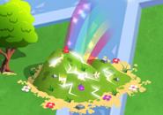 Magic pile hill