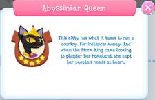 Abyssinian Queen Album Description.png