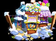 Balloon Pop Stand Winter