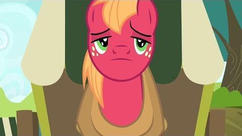 BIG MAC en la Vagoneta GRAN MACINTOSH My Little Pony Friendship is Magic B