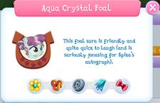 Aqua Crystal Foal album description.png