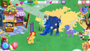 Princess Luna in Canterlot