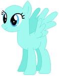 Pegasus pony mare base 01