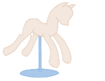 Pony mannequin base by phygem bases-d6fy8z6-vestidos