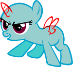 Mlp base confident filly by softybases-d6npdnp