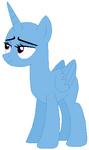 Alicorn pony mare base 01