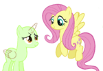 Mlp base 29 fluttershy happy with oc by pumpkinpiebases-d88qaew