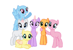 Mlp base let the rainbow remind you by cookie bases-d7jeeit