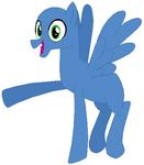 Pegasus pony stallion base 03