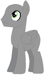 Pegasus pony stallion base 01