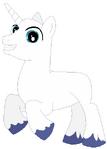 Unicorn pony stallion base 02