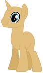 Unicorn pony stallion base 01