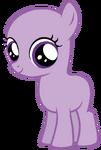 My little pony base 24 filly by drugzrbad-d5wtuq5