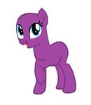 Mlp fim base happy pony by blueberrybaskets-d5sblb7 (1)
