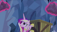 Cadance looking at rocks levitated S2E26