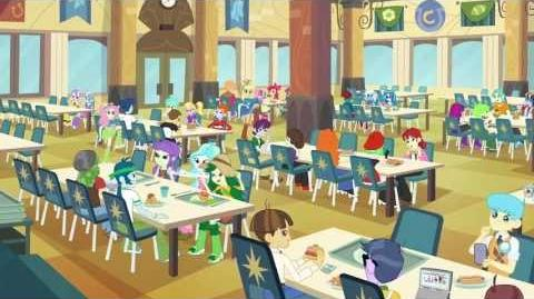 Equestria Girls Cafeteria Song My Little Pony Friendship Is Magic Wiki Fandom