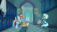 """Rainbow """"you love yelling and blowing your whistle"""" S6E24"""