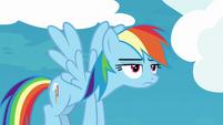 Rainbow Dash already very bored S8E5