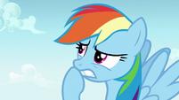 Rainbow Dash thinking quickly S7E14