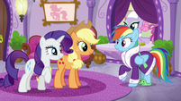 Rarity --you could always join us-- S6E10