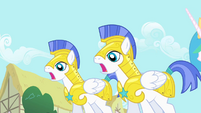 Royal guards surprised S01E22
