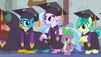 "Silverstream ""practicing for graduation!"" S8E26"