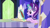 Starlight Glimmer writing a new spell S7E24