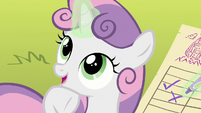 """Sweetie Belle """"pretty much sums it up"""" S8E6"""