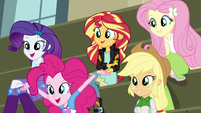 The Equestria Girls excited EG3