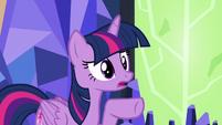 "Twilight ""you sent me to Ponyville"" S7E1"