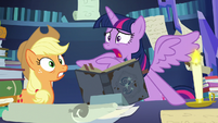 """Twilight Sparkle freaks out """"two days?!"""" S7E25"""