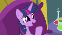 """Twilight Sparkle happy """"it worked!"""" MLPS2"""