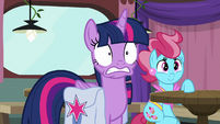 Twilight has a bad feeling about this S9E16