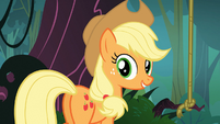 """Applejack """"saw the balloon floating by"""" S03E09"""
