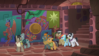 Caballeron holds Rainbow and Quibble hostage S6E13