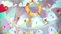 Decorations in Rainbow Dash's classroom MLPS3