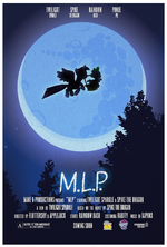 MLP Retro Week E.T. The Extra-Terrestrial parody poster