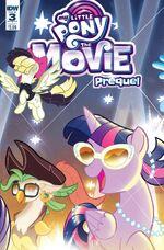 MLP The Movie Prequel issue 3 sub cover