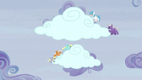 Pegasi moving the clouds S5E5